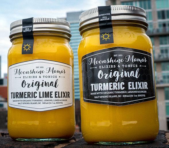 Moonshine Mama's Tumeric Elixers